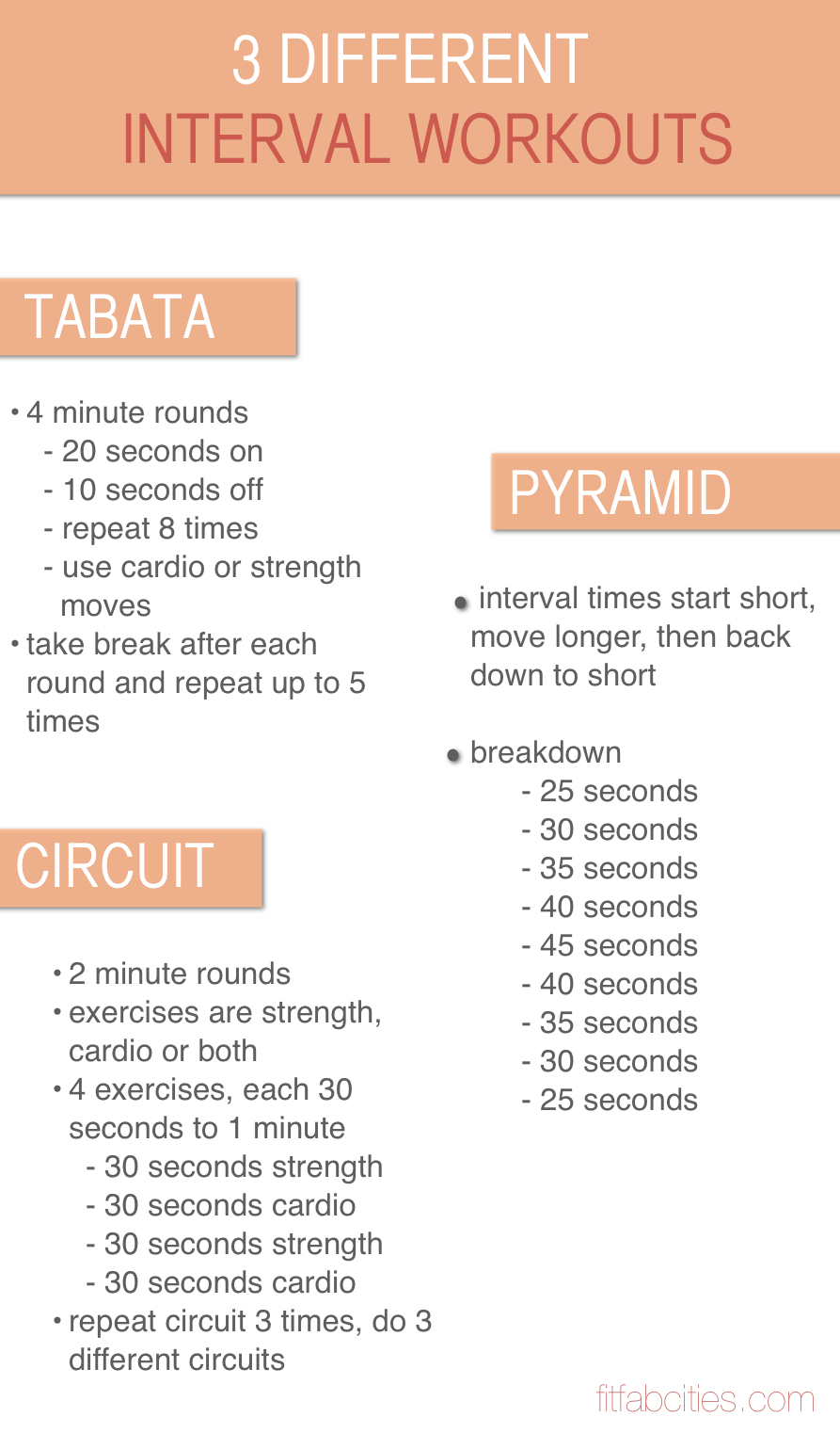 Interval training routines fit girls tumblr