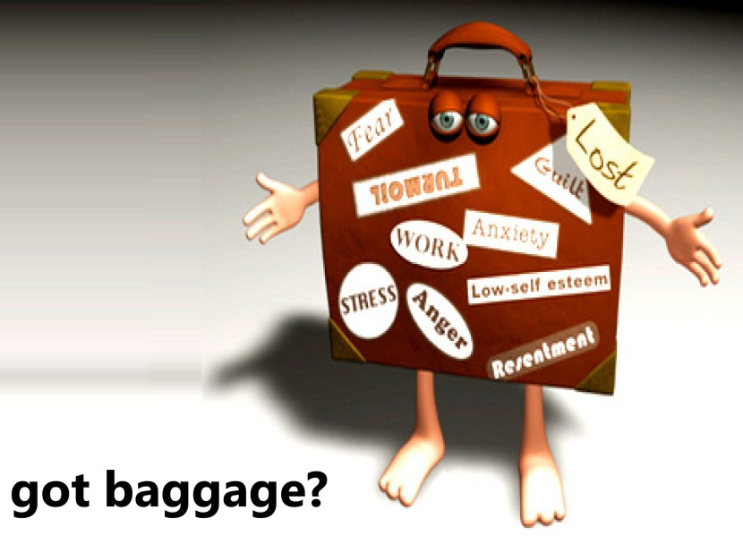 Microsoft PowerPoint - Emotional Baggage Poster