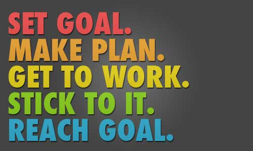 Set-a-goal-make-a-plan-get-to-work-stick-to-it-reach-a-goal