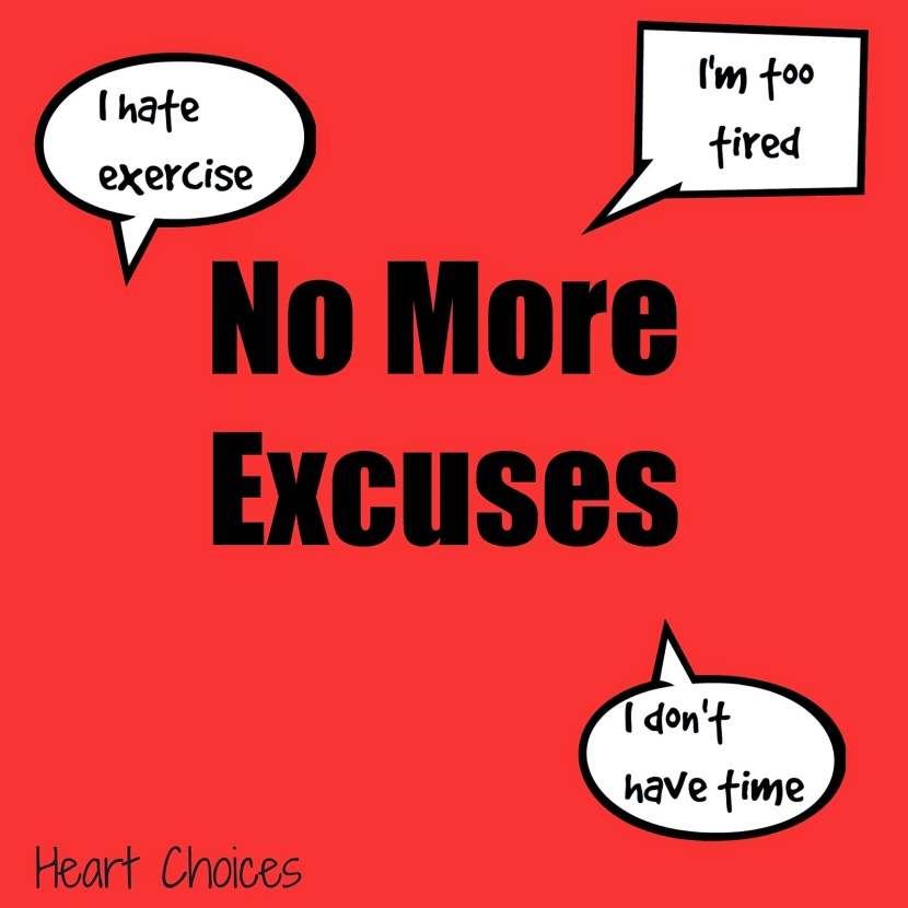 excuses to not exercise