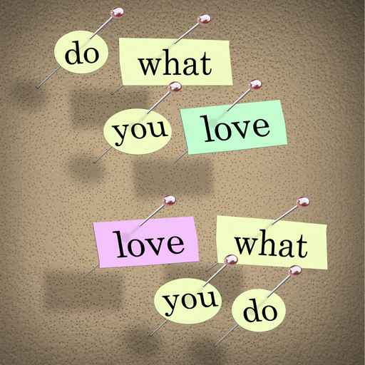 Do What You Love Words Saying - Fulfilling Career Enjoyment