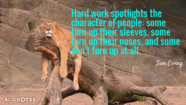 Quotation-Sam-Ewing-Hard-work-spotlights-the-character-of-people-some-turn-up-9-18-72