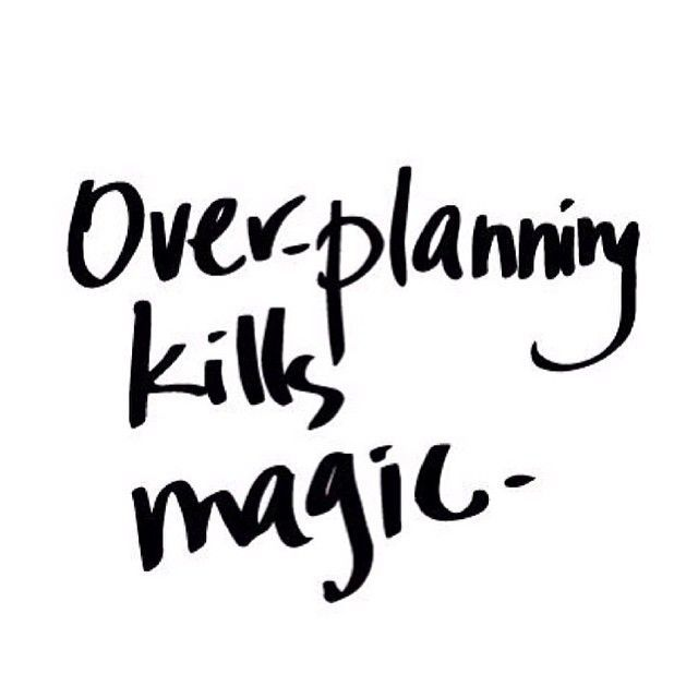Over-planning