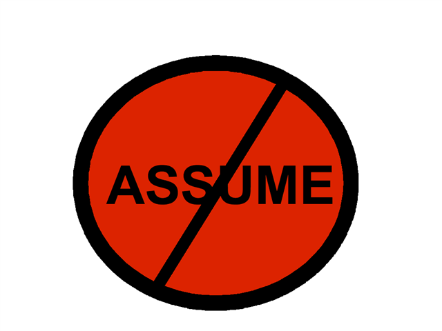 assume-dont-small